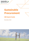 Procurement Quick Guide