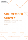 2019 Member survey cover