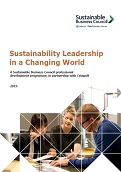 Sustainability Leadership Work Programme