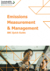 Quick guide emissions